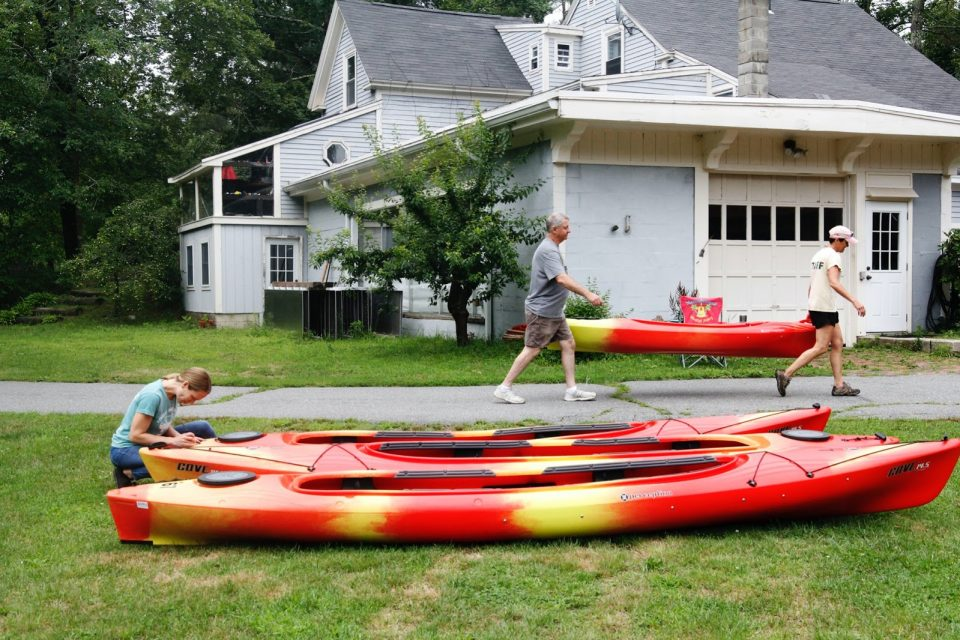Just add water: Foote Brothers make Ipswich River a paddling destination
